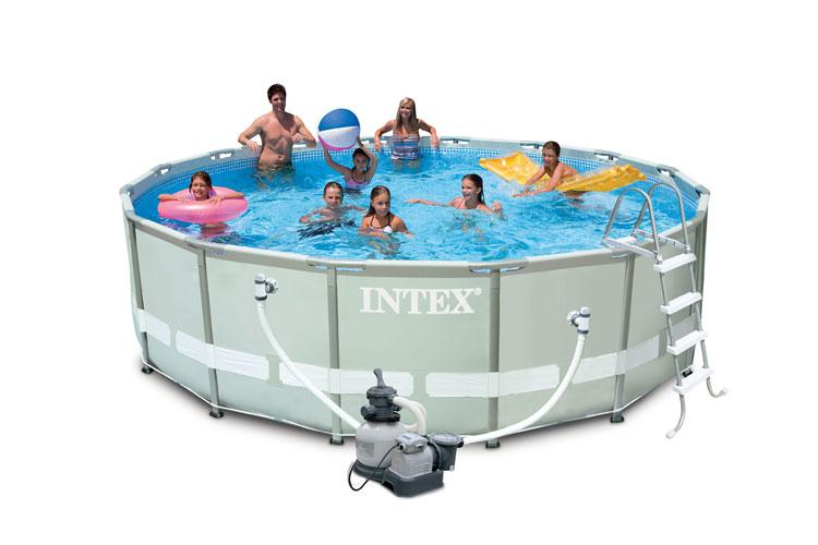 Piscina fuoriterra intex rotonda prezzi e offerte for Offerte piscine intex