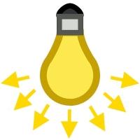 lampadina flusso luminoso lumen