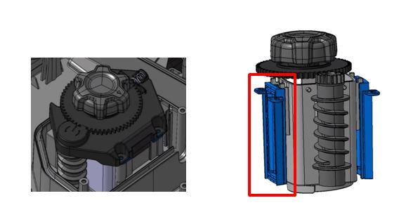 Apparato tagliante e sistema di regolazione altezza di taglio