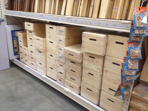 Scatole in legno da decorare
