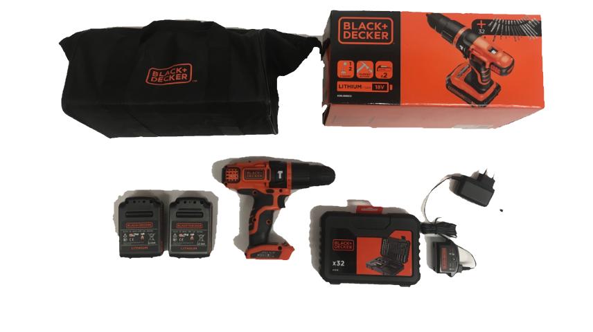 Black & Decker EGBL188S32-QW: contenuto confezione